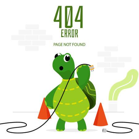 Error 404 turtle