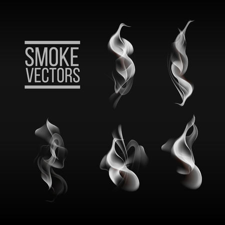 Concept smoke Stock Illustratie