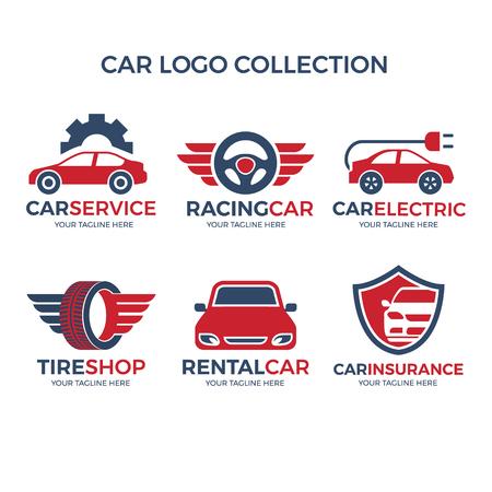 car logo collection vector concept
