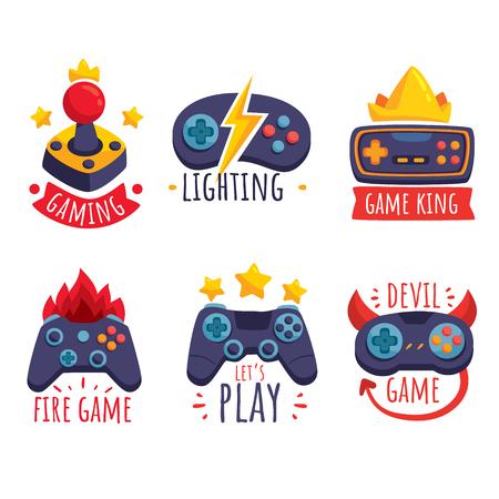 game joystick concepts Vektorové ilustrace