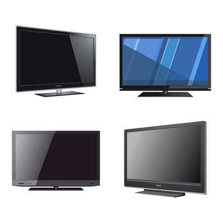 Retro TV Set Icon