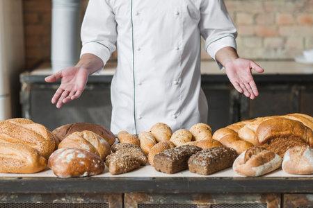 Chef Presents Bread