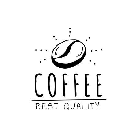 Coffee best quality logo vector