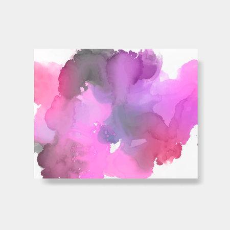 Colorful splash color style banner