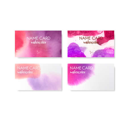 Colorful abstract style card