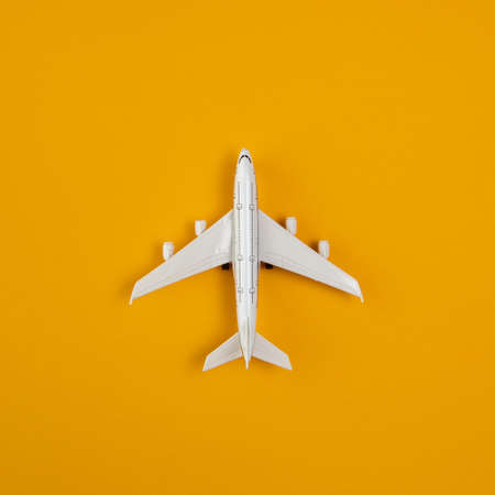 top view airplane copy space. Resolution and high quality beautiful photo Reklamní fotografie
