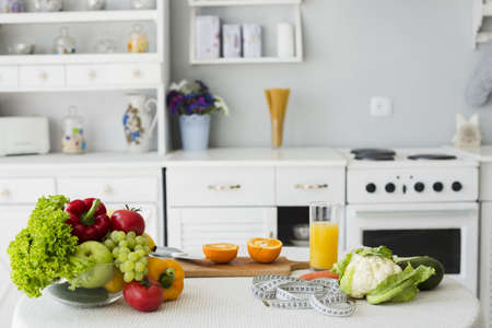 still life table with healthy food. Resolution and high quality beautiful photo Reklamní fotografie