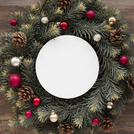tablet christmas wreath. Resolution and high quality beautiful photo