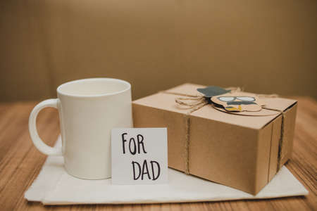 surface with father s day gift mug. Resolution and high quality beautiful photo