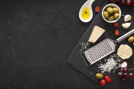 cheese assortment with copy space. Resolution and high quality beautiful photo