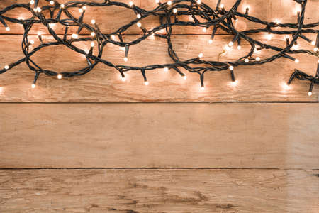 burning garland table. Resolution and high quality beautiful photo