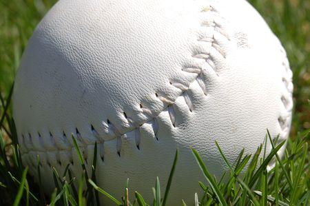 softball detail Banco de Imagens