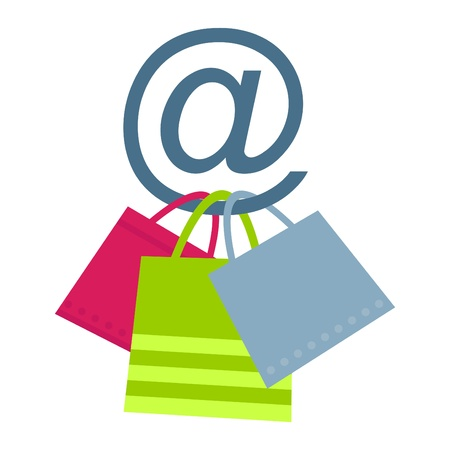 sell online: Concept of on-line shopping