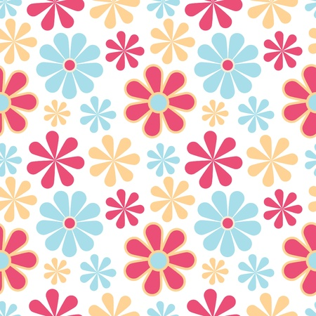 cute wallpaper: Floral seamless pattern