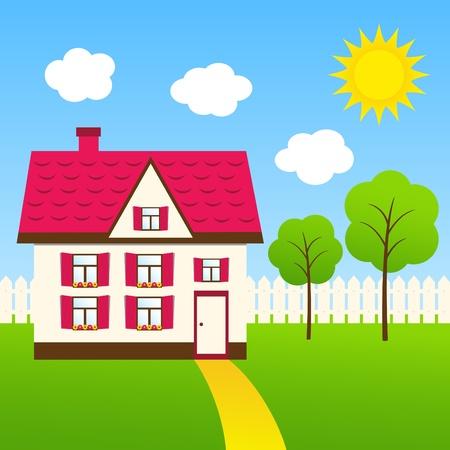house Stock Vector - 11671731
