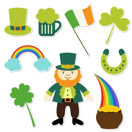 St  Patricks Day elements collection Stock Vector - 12430447