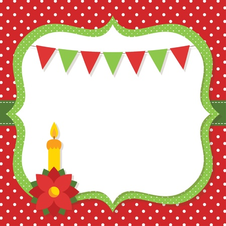 Christmas card Stock Vector - 16615530