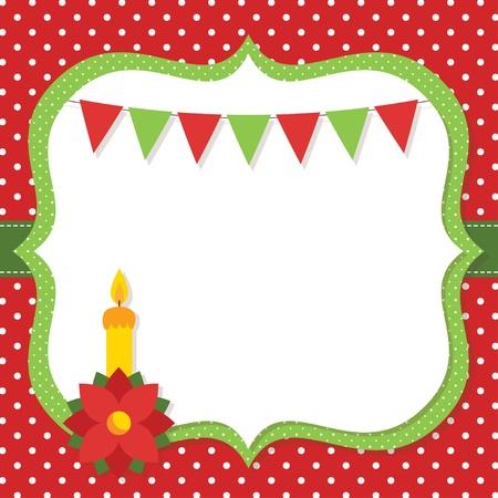 Christmas card Stock Vector - 16615530