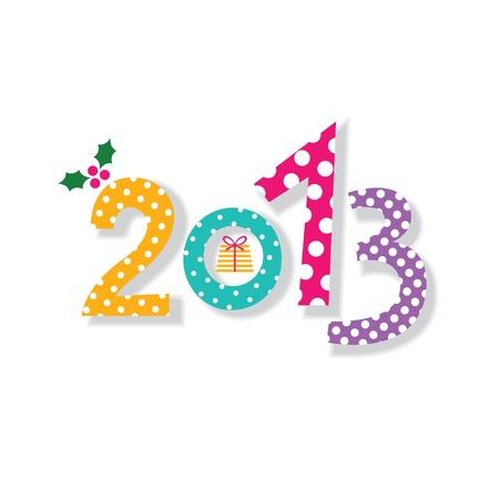 2013 New Year card Stock Vector - 16616579