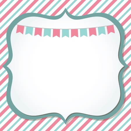 Cute card Vector