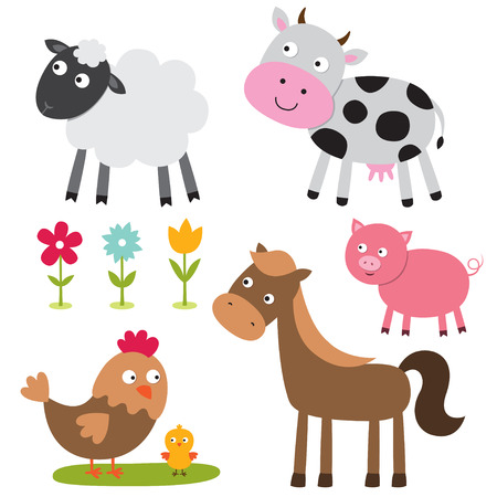 farm animals: Farm animals