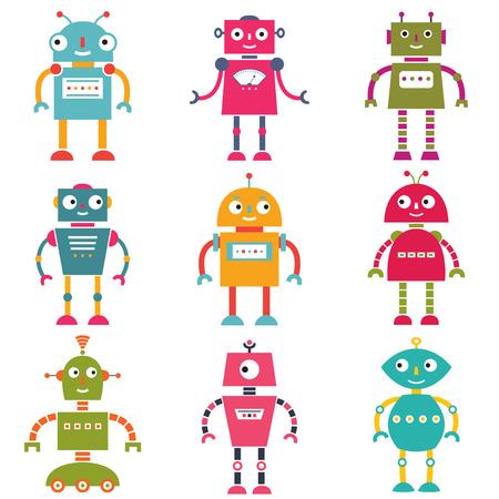 space robot: Robots set