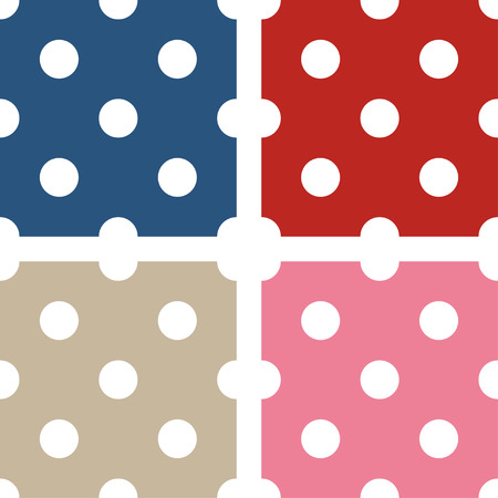 polka dot pattern: Seamless polka dot pattern