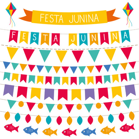 축제 Junina 장식 세트