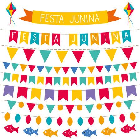 Festa Junina decoration set