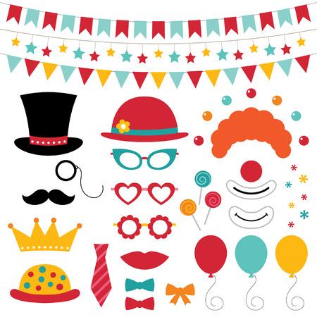 clown cirque: Cirque des accessoires photo de stand et de d�coration