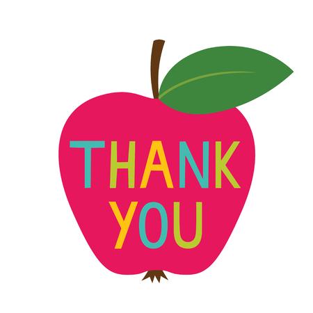Dziękuję karcie Dzień Nauczyciela