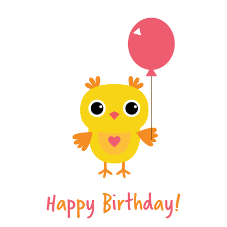 Cute Owl Happy Birthday Card Royalty Free Cliparts Vectors And