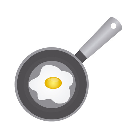kitchen tools: abstract kitchen tools on a white background Illustration