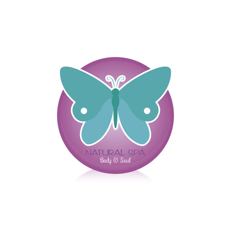 cosmetician: Isolated spa icon on a white background. Vector illustration Illustration