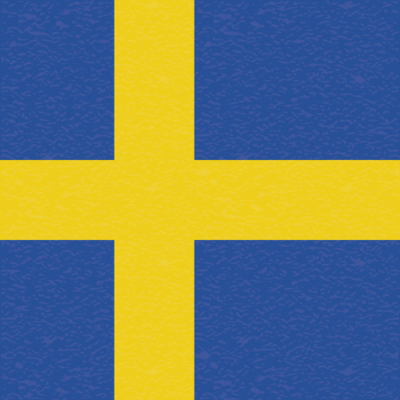 sweden flag: abstract Sweden flag with a grunge texture