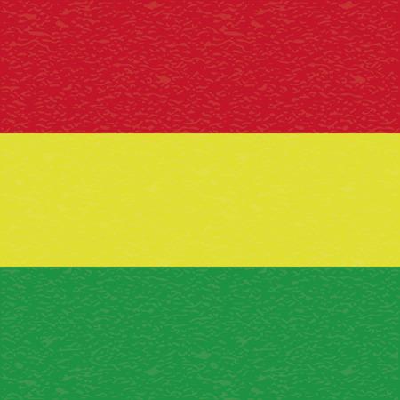 bandera de bolivia: Bandera abstracta Bolivia con una textura grunge