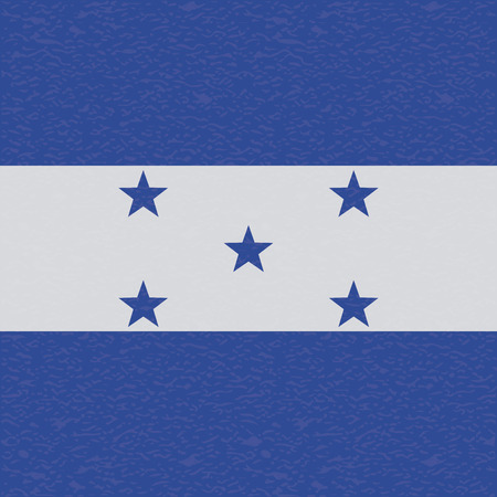 bandera honduras: Bandera Resumen Honduras con una textura grunge