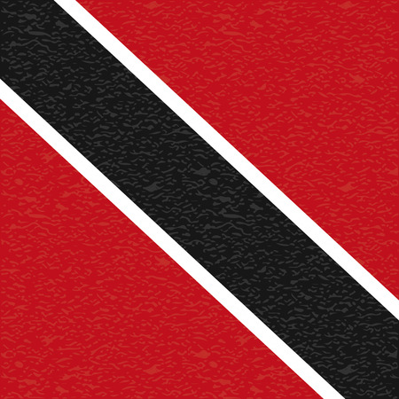 trinidad: Abstract Trinidad and Tobago flag with a grunge texture