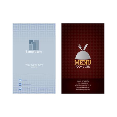 tarjeta de presentacion: Tarjeta de presentaci�n abstracta en un fondo blanco