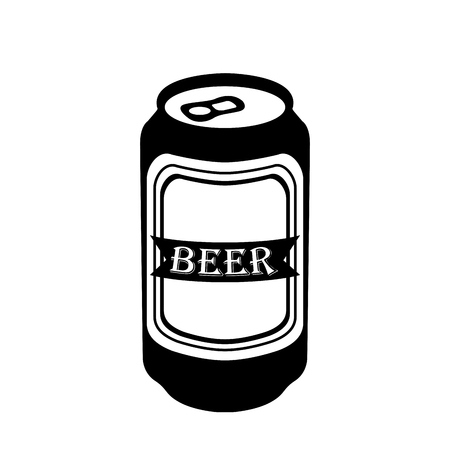 ビールの分離のシルエットにすることができます。