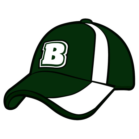 Isolated baseball cap icon.