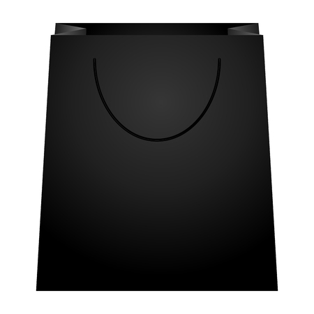 Shopping bag illustration Illustration