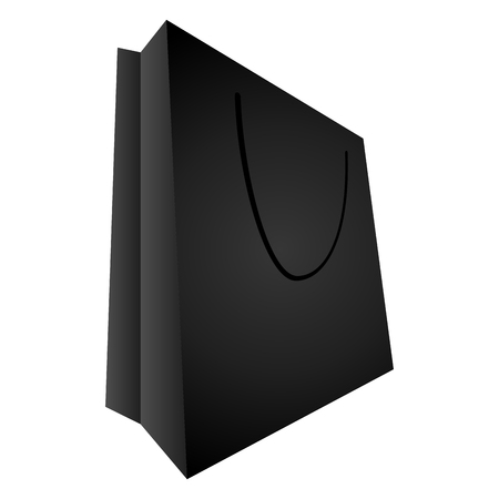 consumerism: Shopping bag illustration Illustration