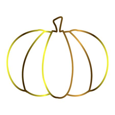 Isolated pumpkin outline Reklamní fotografie - 90419461