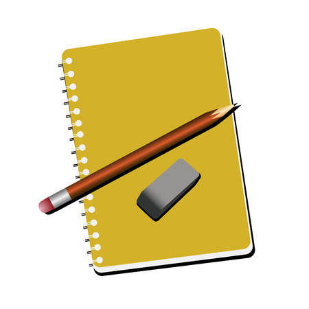 School supplies illustration