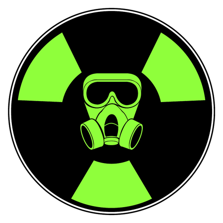 Isolated radioactive signal icon symbol design vector illustration