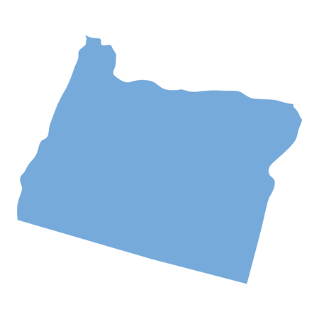 Oregon State map