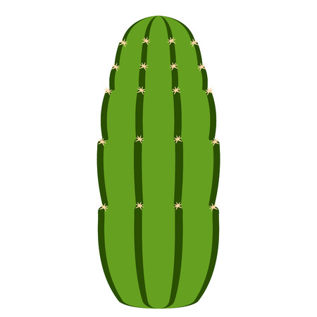 Isolated cute cactus icon vector illustration design.