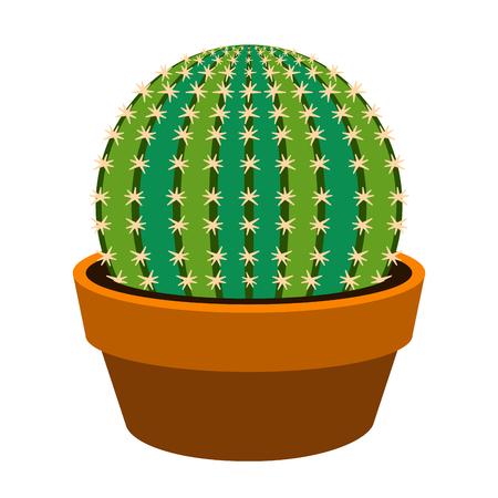 Isolated cute cactus icon. Vector illustration design