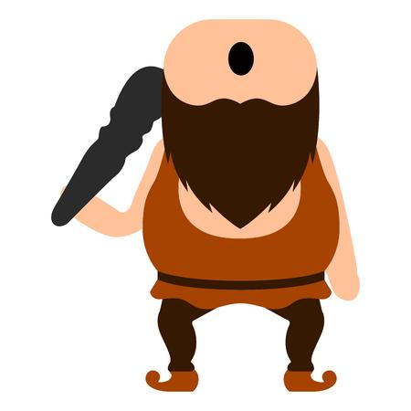 Cute cyclops icon